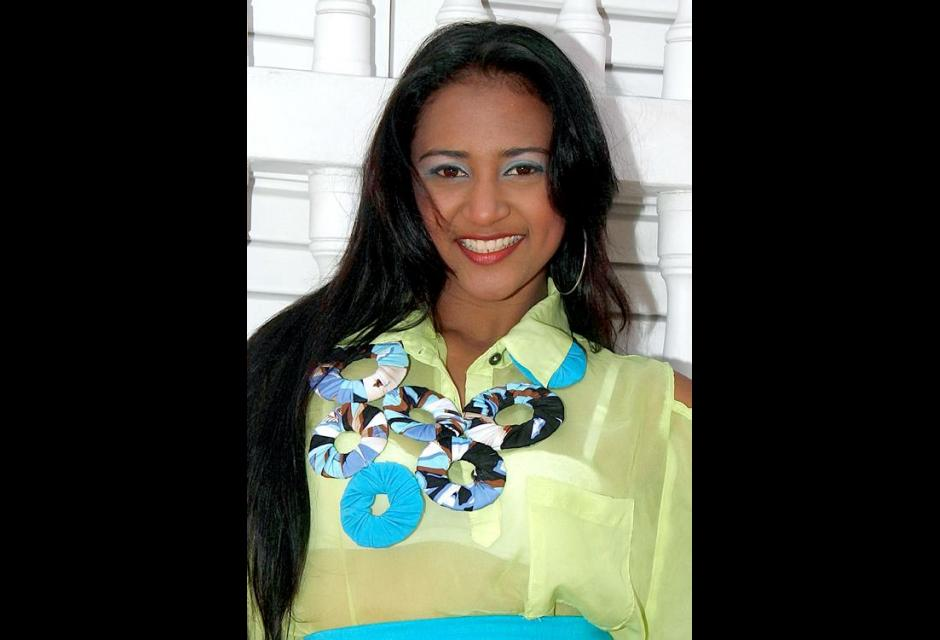 Representante del barrio Navidad y Puerto de Pescadores, Maria Carolina Contreras Cuadrado.
