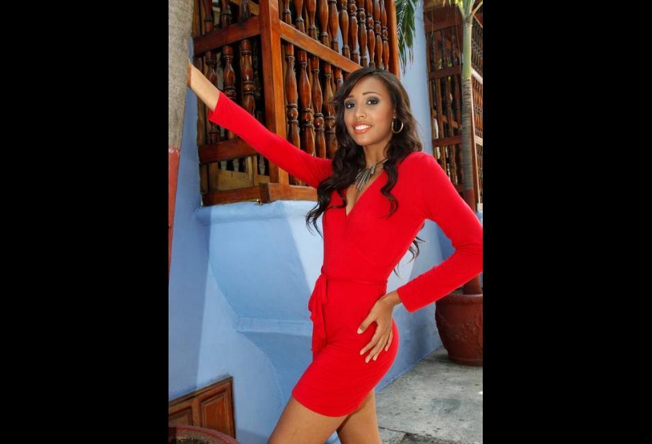 Representante del barrio Nelson Mandela, Eliana Melisa Vargas Llerena.