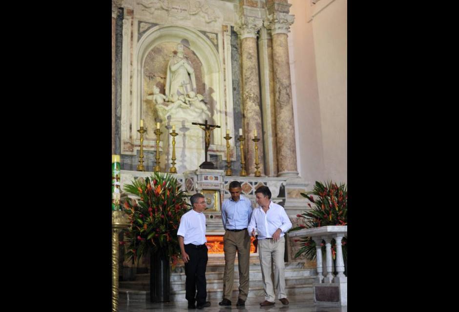 Obama en Plaza San Pedro Claver
