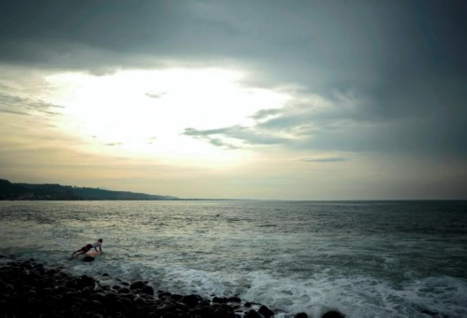 Playa Punta Roca, en El Salvador