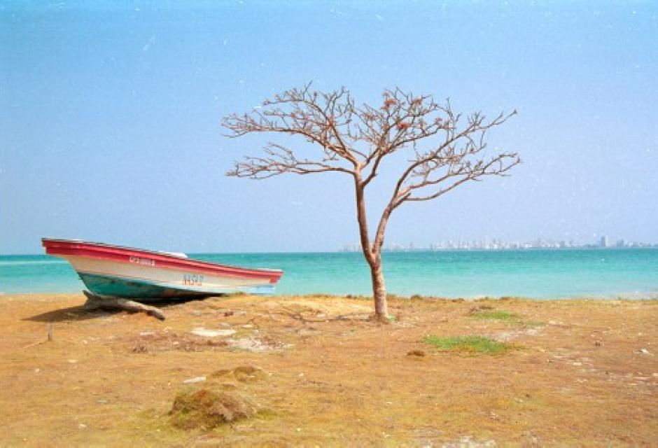 Punta arena, Isla de Tierrabomba