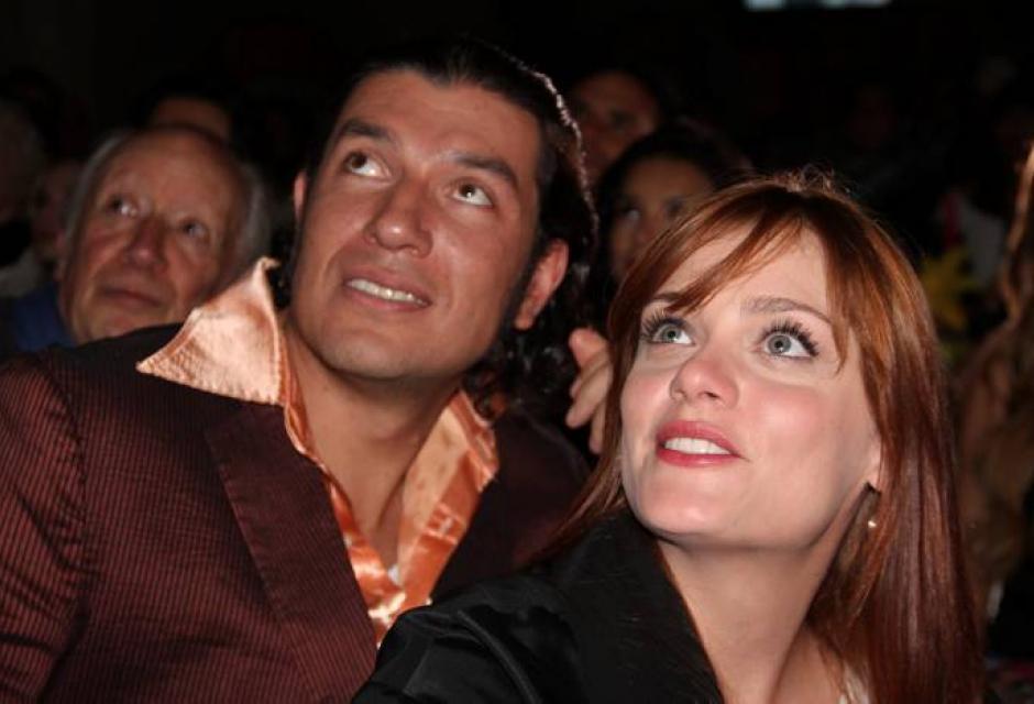 Gustavo Angarita Jr. y Adeliada Buscató.