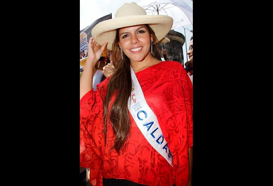Valentina Muñoz  Escaobar, señorita Caldas.
