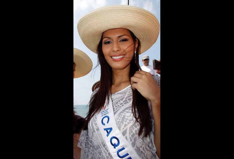 Lizeth Mendieta Villanueva, señorita Caquetá.