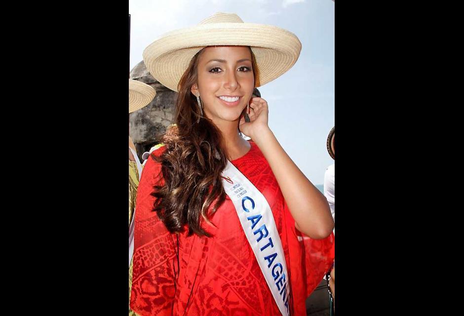 Laura Cantillo Torres, señorita Cartagena D. T. y C.