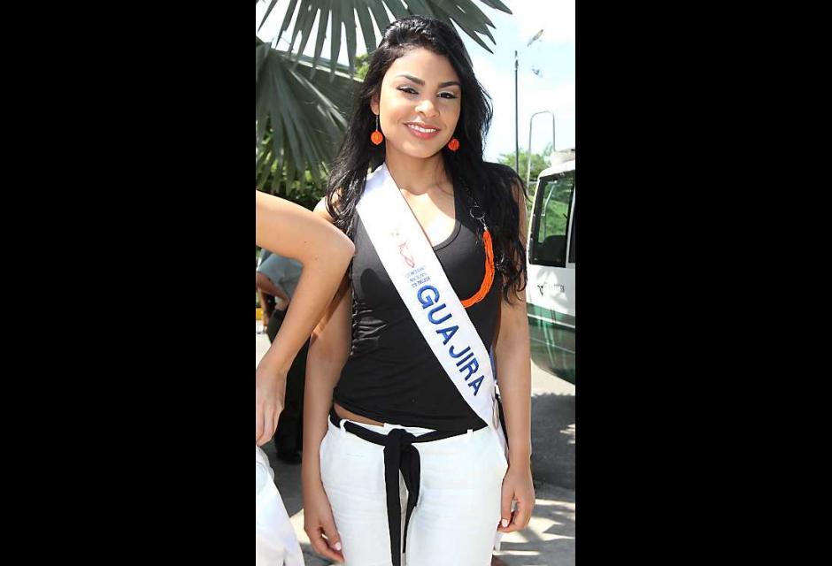 Vanessa Carolina Choles Vidal, señorita Guajira.