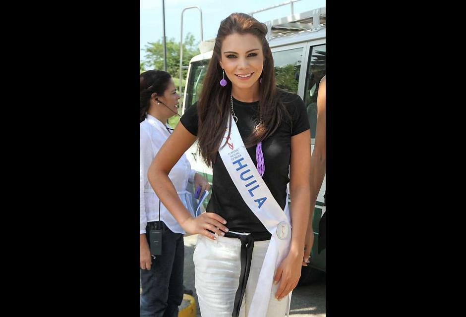Daniella Villaveces Díaz, señorita Huila.