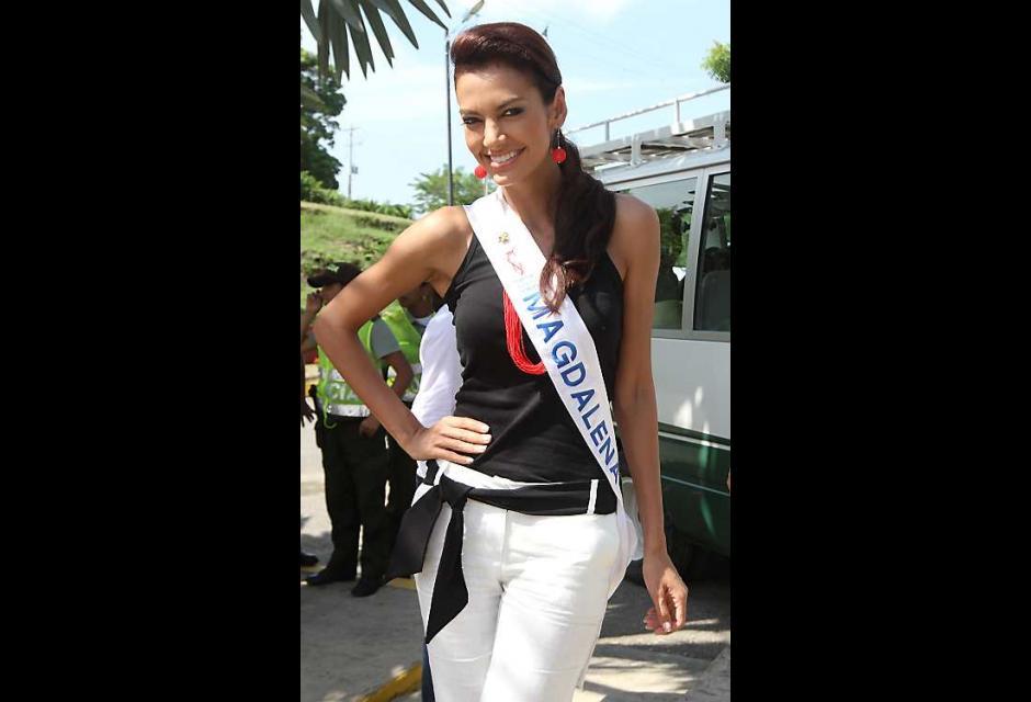 Melissa Carolina Varón Ballesteros, señorita Magdalena.