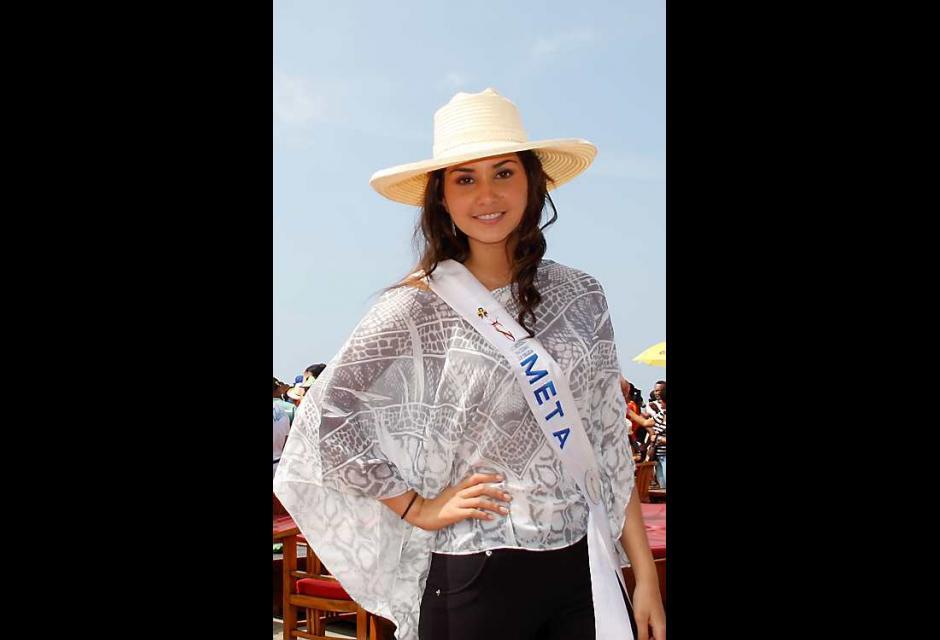 Sara Villareal Pineda, señorita Meta.