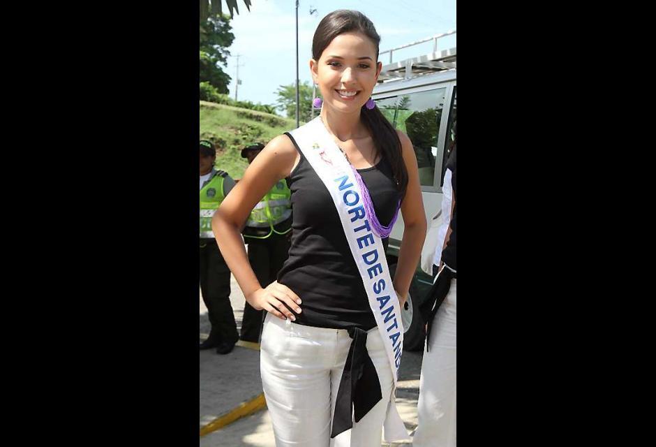 Mayra Alejandra Osorio Chávez, señorita Norte de Santander.