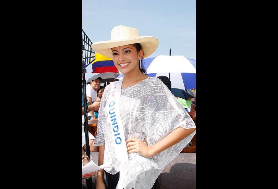 Estefanía Díaz- Granados Gallo, señorita Quindío.
