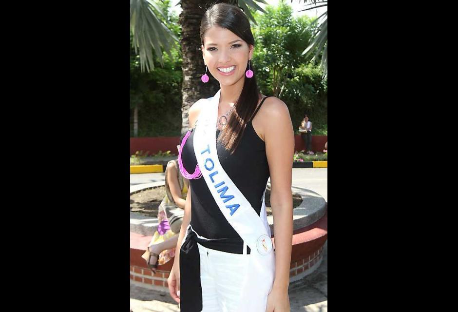 Alexandra Herrera Avendaño, señorita Tolima.