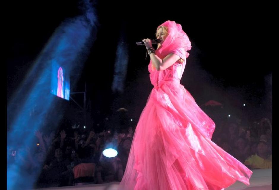 Shakira en concierto.