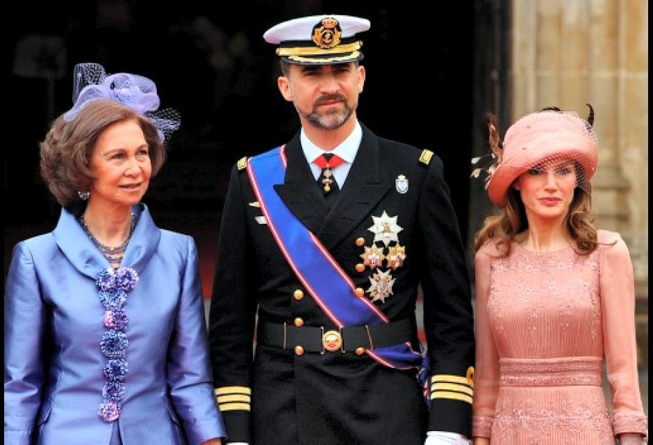 Sombreros en la Boda de Kate Middleton y el príncipe Guillermo.
