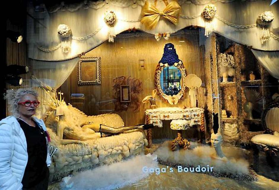 La tienda se encuentra en Barney's New York en Madison Avenue