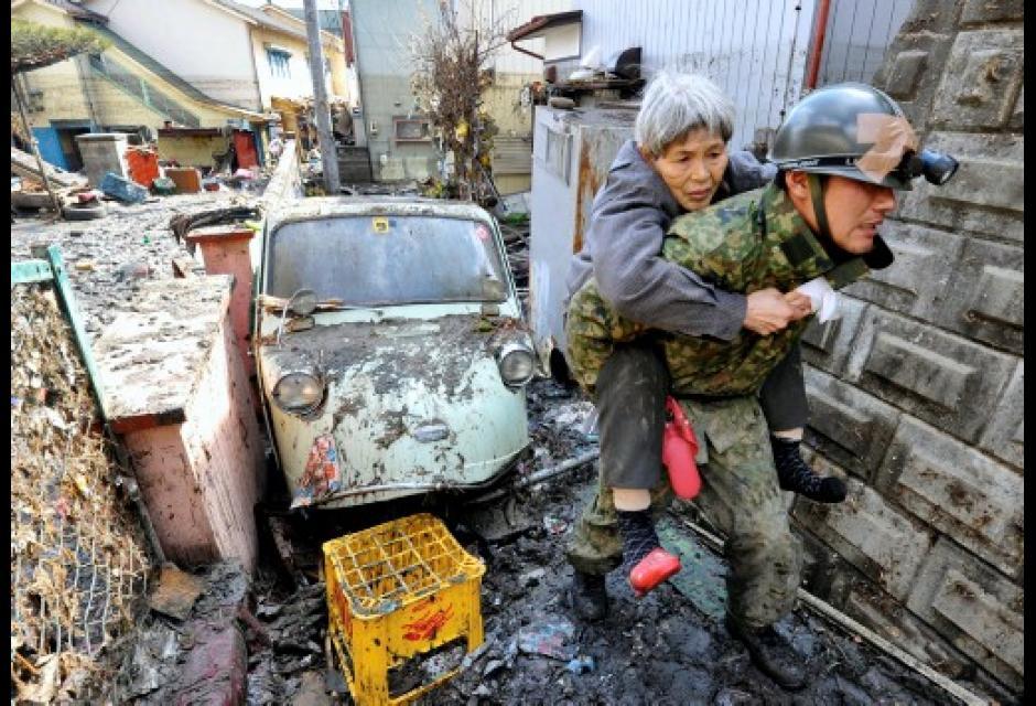 Japón, un día después del desastre
