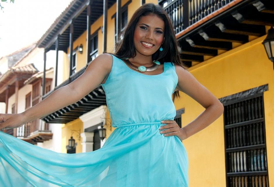 Representante del barrio Villa del Sol, María José Luna Piñerez.