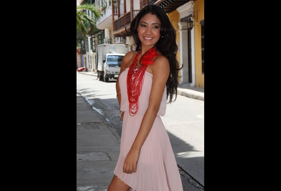 Representante del barrio Zaragocilla, Carmen Astrid Montes Tarra.