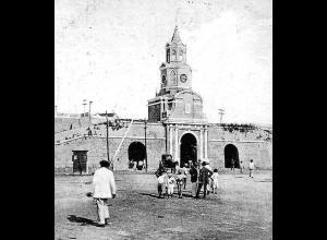 Torre del Reloj en 1914.