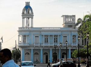 Palacio de la Cultura en Cienfuegos (Cuba).