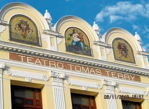 Teatro Terry en Cuba.