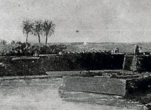 Revellín de San Lucas o del Cabrero, demolido en 1887.