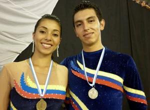 Marcela Cruz y Leonardo Parrado