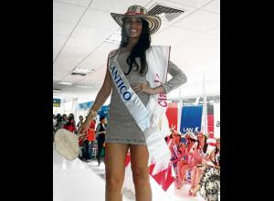 La candidata del Atlántico, Zaira Melissa Delgado Bula