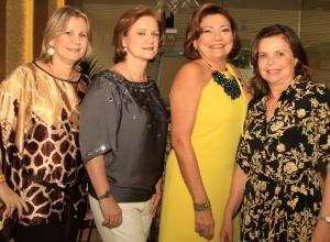 Susana Ciodaro, Teresita Stevenson, María Nelly Mendoza y Margarita Ricardo.