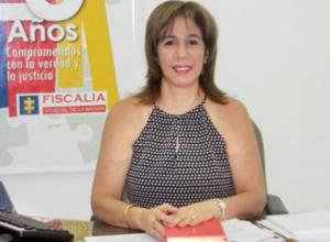 Gilma Londoño Gánem, exdirectora de Fiscalía de Córdoba.