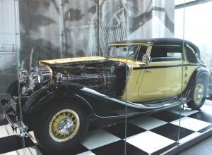 Horch 670 Convertible Sport con 120 HP.
