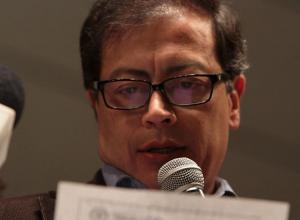 Gustavo Petro, alcalde de Bogotá.