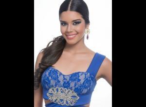 Ashley Ordoñez Arévalo, Señorita Bucaramanga.