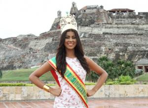 Naomy Ocoró, reina de la Independencia 2015