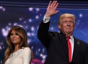 Melania y Donald Trump.