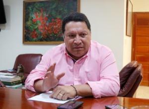 Manuel Vicente Duque, alcalde de Cartagena.