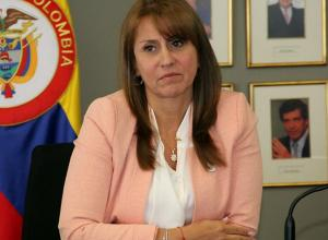 Griselda Restrepo, Ministra de Trabajo.