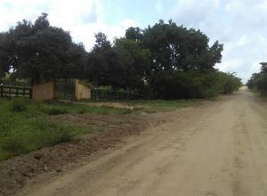 Finca La Roca, en Mahates, donde sujetos armados entraron y robaron 17 vacas.