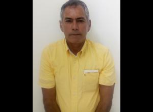 Marcelo Díaz, asegurado.