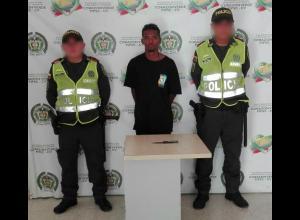 Alias 'el Lata', capturado porque habría matado a un venezolano en el Centro.