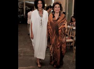 Judy Hazbún y Amalin Hazbún.