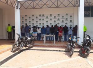 Capturados 17 presuntos miembros de la banda los Cobra en Cartagena.
