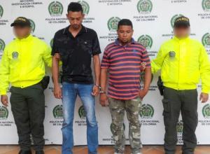 José Rodolfo Morales y Cristian Camargo, capturados y enviados a la Cárcel de Ternera.