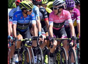 Esteban Chaves y Simon Yates del Mitchelton-Scott