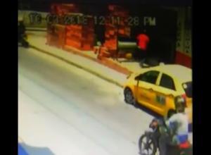 En video quedó registrado el asesinato de Cedulia Camargo en San Fernando.