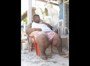 El niño más obeso de Colombia.