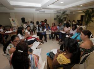 Encuentro de docentes de Prensa Escuela