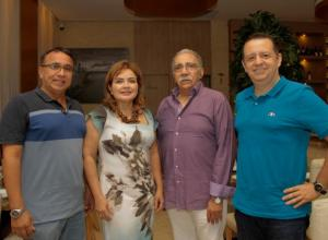 orge De Ávila, Clarena Ceballos, Iván Rodríguez y David Rodríguez./