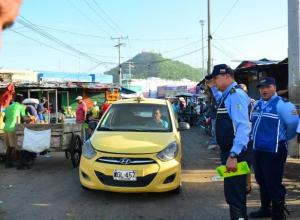 Operativos del DATT en el  Mercado de Bazurto.