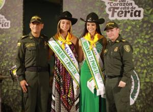 Vayira Viecco, de Atlántico, y Amanda Brenner de Brasil.